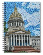 West Virginia State Capitol Spiral Notebook