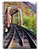 West Virginia Trestle Spiral Notebook