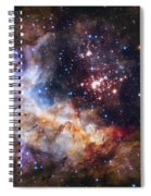 Westerlund 2 - Hubble 25th Anniversary Image Spiral Notebook