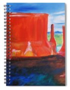 Western Canyon Spiral Notebook