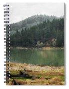 Western Cascades River Spiral Notebook