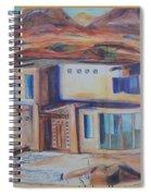 Western Home Rendering Spiral Notebook