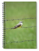 Western Kingbird Spiral Notebook