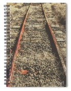 Western Railway Of Routes Forgotten Spiral Notebook