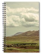 Western Storm Spiral Notebook