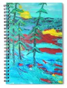 Western Sunset Spiral Notebook