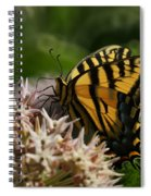 Western Tiger Swallowtail Spiral Notebook