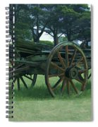 Western Wagon Spiral Notebook