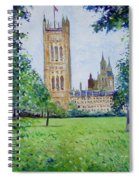 Westminster Abbey From Abbey Grounds London England 2003  Spiral Notebook