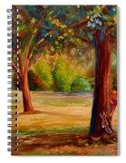 Westmount Park Montreal Spiral Notebook