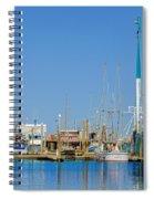 Westport Docks Color Spiral Notebook