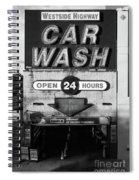Westside Highway Car Wash Nyc Spiral Notebook