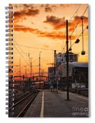Westward Spiral Notebook