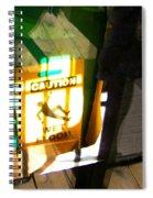 Wet Floor Spiral Notebook