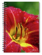 Wet Lily Spiral Notebook