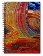 Wet Paint - Run Colors Spiral Notebook
