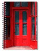 Wet Paint Spiral Notebook
