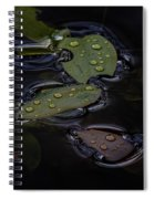 Wet Spiral Notebook