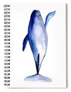 Whale 1 Spiral Notebook