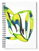 Whale Flow Spiral Notebook