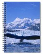 Whale Fluke Spiral Notebook