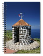 Whale Lookout Spot Spiral Notebook