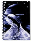 Whale Moon Spiral Notebook
