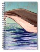 Whale Tail    Pastel   Sold Spiral Notebook