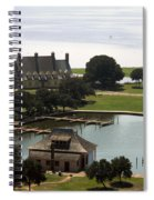 Whalehead Club And Boathouse Spiral Notebook