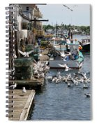Wharf Action Spiral Notebook