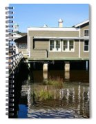 Wharf At Jekyll Island Spiral Notebook