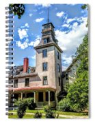 Wharton Mansion Spiral Notebook