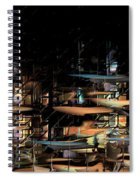 Wharves Spiral Notebook