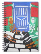 What A Beautifully Colored World Spiral Notebook