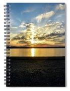 What A Sunset Spiral Notebook