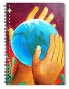 What A Wonderful World ... Spiral Notebook