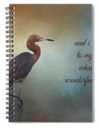 What A Wonderful World Spiral Notebook