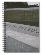 What Does Freedom Cost? Spiral Notebook