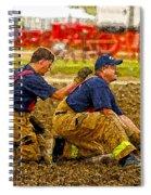 What Fire Spiral Notebook
