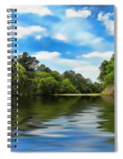 What I Remember About That Day On The River Spiral Notebook
