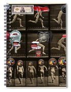 What Is Love? Backside Effects - The Ex-lax Of The Mind Spiral Notebook