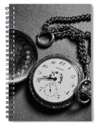 What Is The Time? Spiral Notebook
