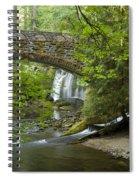 Whatcom Falls Bridge Spiral Notebook