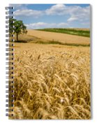 Wheat And A Tree Spiral Notebook