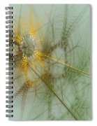 Wheat Design Spiral Notebook
