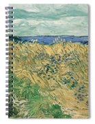 Wheat Field With Cornflowers At Wheat Fields Van Gogh Series, By Vincent Van Gogh Spiral Notebook