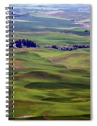 Wheat Fields Of The Palouse - Eastern Washington State Spiral Notebook