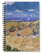 Wheat Fields With Reaper, Auvers Spiral Notebook