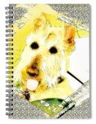 Wheaten Scottish Terrier - During Sickness And Health Spiral Notebook
