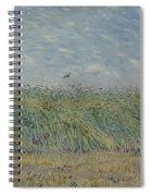 Wheatfield With Partridge Paris, June - July 1887 Vincent Van Gogh 1853 - 1890 Spiral Notebook